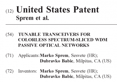 New patent from members of AOLab