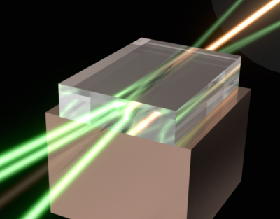 The Star Wars 'superlaser'...