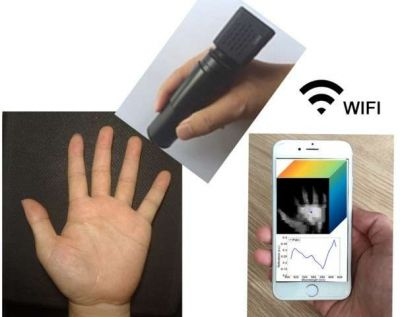 Wireless handheld spectrometer...